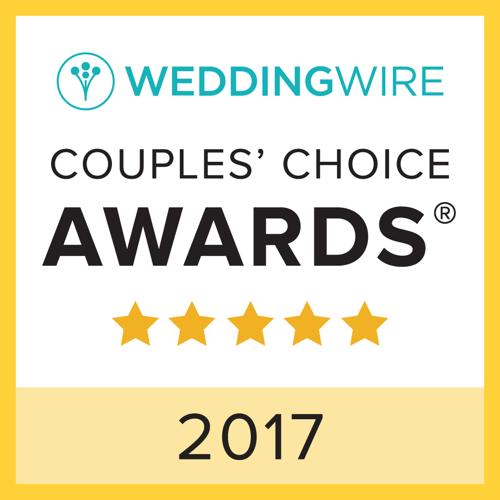 WeddingWire Couples' Choice Awards 2017